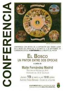 Conferencia sobre El Bosco