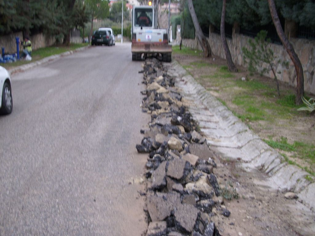Finalizada la nueva canalización de agua potable en calle Leizarán.