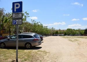 aparcamiento  de El Vaíllo 3