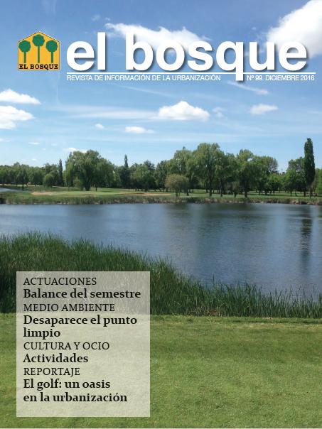 Revista El Bosque Nº 99 Diciembre 2016