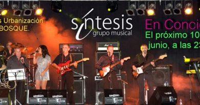 CONCIERTO GRUPO MUSICAL SÍNTESIS