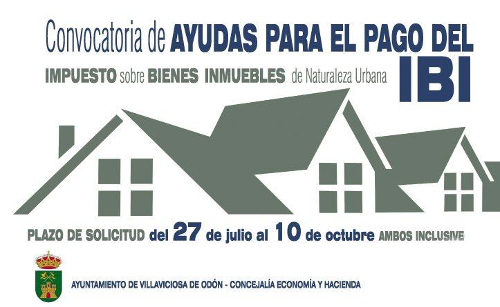 Villaviciosa convoca una serie de ayudas para el pago del Impuesto sobre Bienes Inmuebles (IBI)
