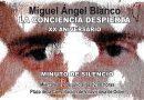 El Ayuntamiento convoca a los vecinos para rendir homenaje a Miguel Ángel Blanco mediante la celebración de un minuto de silencio