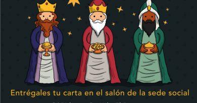 ¡¡¡ LLEGAN LOS REYES MAGOS A LA ENT. URB. EL BOSQUE !!!