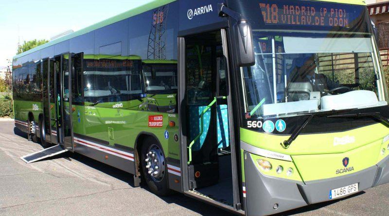 La frecuencia de autobuses de la línea 518 aumenta en las horas punta de la mañana llegando a pasar cada cinco minutos