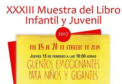 """Del 15 al 26 de febrero la Sala infantil de la Biblioteca Municipal acoge la XXXIII """"Muestra del Libro Infantil y Juvenil"""""""