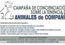 Campaña de concienciación sobre la tenencia de animales de compañía