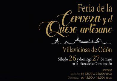 Este fin de semana, 26 y 27 de mayo, Villaviciosa celebra su primera Feria de la Cerveza y del Queso Artesano