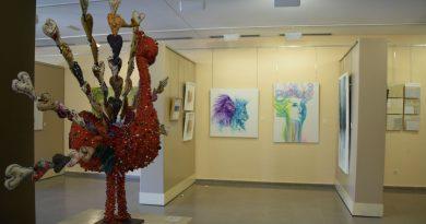 El Coliseo de la Cultura acoge la Primera Exposición Colectiva de 30 artistas de la localidad