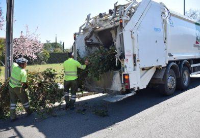 El servicio municipal gratuito de retirada de poda a domicilio se inicia este mes y se extenderá hasta el 31 de marzo de 2019